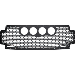 2017-CURRENT FORD  SUPER DUTY CANNON GEN 2 STYLE GRILLE WITHOUT LIGHTS Vision X XIL-OEGC17FSD 9917276