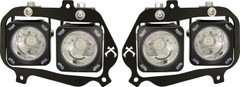 RZR LED Halo Headlight Kit. Vision X XIL-OEHL08RZR900OPH, 9898605