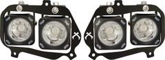 RZR LED Halo Headlight Kit. Vision X XIL-OEHL08RZR900OPH, 9898605