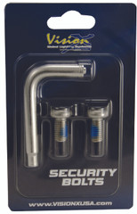 SECURITY BOLT 8X15 2PCS INCLUDING 1 TOOL Vision X XIL-SB0815 9893419