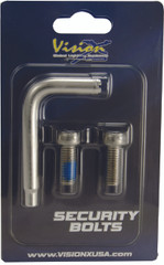SECURITY BOLT 8X20 2PCS INCLUDING 1 TOOL Vision X XIL-SB0820 9893426