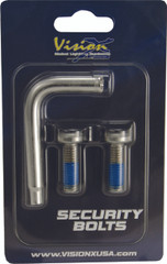 SECURITY BOLT 8X25 2PCS INCLUDING 1 TOOL Vision X XIL-SB0825 9893433