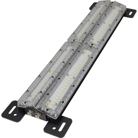 "Cube Shockwave Dual LED Panel Light: Dual 24"" (610mm) - Vision X CSWD192PE"
