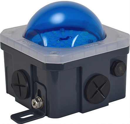 Blue 10-watt J-Box Lens Cover - Vision X LAJ1PCVB