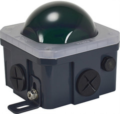 Green 10-watt J-Box Lens Cover - Vision X LAJ1PCVG