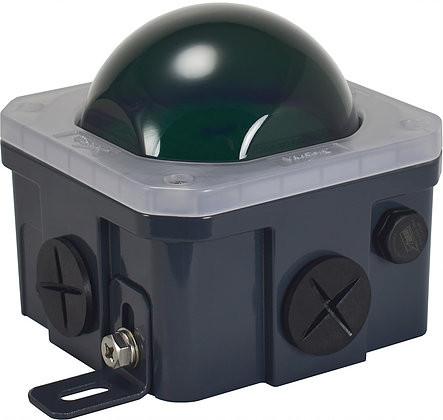 Green 10-watt J-Box Lens Cover - Vision X LAJ1PCVG