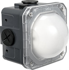 Frosted Lens 10-Watt Junction Box Lighting - Vision X LSGSM40180F