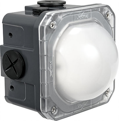 Frosted Lens 10-Watt Junction Box Lighting - Vision X LSGSM40180F