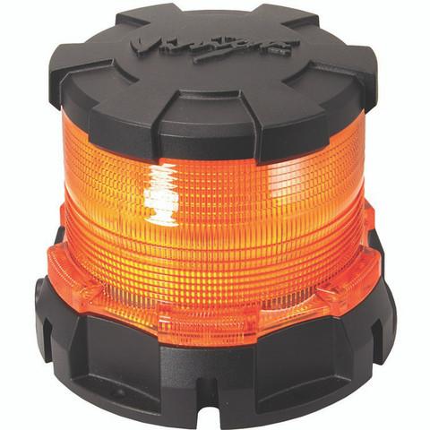 Heavy Duty LED Beacon; Amber - Vision X MIL-HDBA