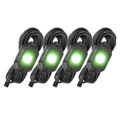 4 Pod LED Rock Light Kit, Green HIL-RL4G  9929323