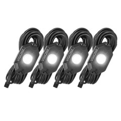 4 Pod LED Rock Light Kit White HIL-RL4W  9929354