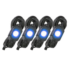 4 Pod LED Rock Light Kit, Blue HIL-RL4B  9929316