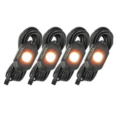 4 Pod LED Rock Light Kit, Amber HIL-RL4A  9929309