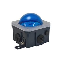 10-Watt Junction Box Lighting Blue Lens - LSGSM40180PCVB