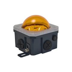 10-Watt Junction Box Lighting Amber Lens - LSGSM40180PCVA
