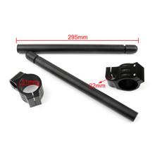 51mm Clip-On Handlebars Universal Motoycycle CBR VTR GSX GSXR SV ZX Mille R6 R1, Black