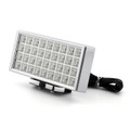 Car Vehicle 36 LED Lights Silver Tone Plastic Universal Brake Light, Red