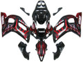 Fairingsr Yamaha YZF-R6 Black & Red Flame R6 Racing (1998-2002)