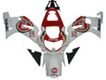 Fairings Suzuki GSXR 750 White Red Lucky Strike Racing  (2000-2003)