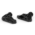 CNC Swingarm Spool Adapters Honda CBR500R (2014-2015) Black