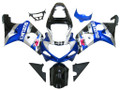 Fairings Suzuki GSXR 1000 Silver Blue Black GSXR  Racing  (2000-2002)
