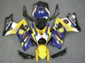 Fairings Suzuki GSXR 1000 Yellow & Blue Alstare Racing  (2007-2008)