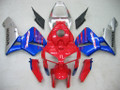 Fairings Honda CBR 600 RR Red Blue Silver CBR Racing (2005-2006)