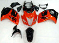 Fairings Suzuki GSX 1300R Hayabusa Orange Metallic & Black Hayabusa Racing  (2008-2014)