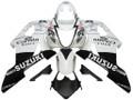 Fairings Suzuki GSXR 1000 White & Black Corona Suzuki Racing  (2003-2004)