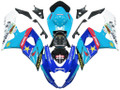 Fairings Suzuki GSXR 1000 Blue Rockstar Makita GSXR Racing  (2005-2006)