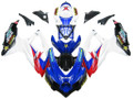 Fairings Suzuki GSXR 600 750 Blue Red White GSXR Racing  (2008-2009-2010)