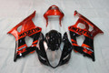 Fairings Suzuki GSXR 1000 Black Red GSXR Racing  (2003-2004)