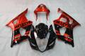 Fairings Suzuki GSXR 1000 Black Red GSXR Racing  (2003-2004)