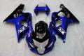Fairings Suzuki GSXR 600 750 Blue Black GSXR Racing (2004-2005)