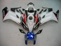 Fairings Honda CBR 1000 RR White Red Black CBR Honda Racing (2004-2005)