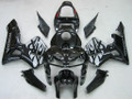 Fairings Honda CBR 600 RR Black & Silver Tribal Tatoo Racing (2005-2006)
