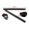Motorcycle Clip-On Handlebars Aprilia RS250 Mille, Black