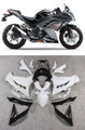 Fairings Plastics Kawasaki Ninja 300R EX300R Grey Black Ninja Racing (2013-2014-2015)