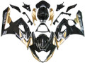 Fairings Suzuki GSXR 1000 Black & Gold GSXR Racing  (2005-2006)