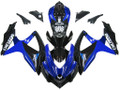 Fairings Suzuki GSXR 600 750 Blue Black GSXR Racing  (2008-2009-2010)