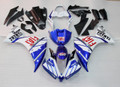 Fairings Plastics Yamaha YZF R1 Blue White FIAT Racing (2013-2014)