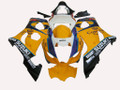 Fairings Suzuki GSXR 1000 Yellow & White Corona Racing  (2003-2004)