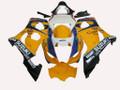 Fairings Suzuki GSXR 1000 Yellow & White Corona Racing  (2003-2004)