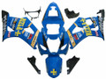 Fairings Suzuki GSXR 1000 Blue Rizla Racing  (2003-2004)