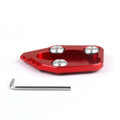 CNC Kickstand Side Stand Plate Pad Honda CBR1000RR 2008-2015 Red