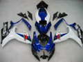 Fairings Suzuki GSXR 600 750 White Blue Black GSXR Racing  (2006-2007)