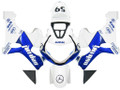 Fairings Suzuki GSXR 1000 White & Blue Jordan Racing  (2000-2002)