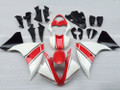 Fairings Yamaha YZF-R1 White Red Black Racing (2009-2012)