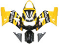 Fairings Suzuki GSXR 600 Yellow Black GSXR Racing  (2001-2003)