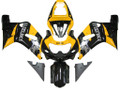 Fairings Suzuki GSXR 750 Black & Yellow GSXR Racing  (2000-2003)